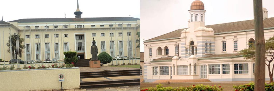 Lubiri Palace and BulangeParliament